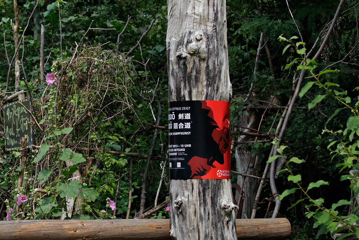 Japanische Kampfkunst im Schloss Mitsuko