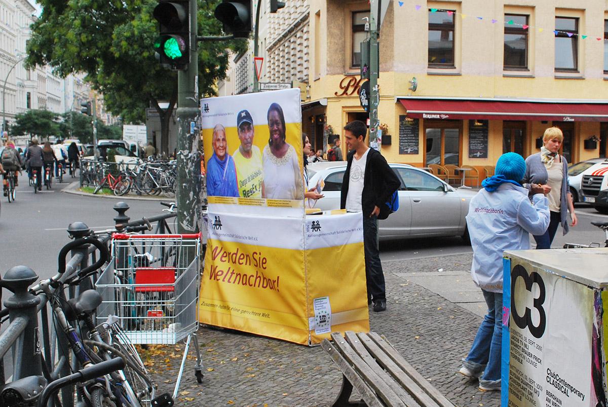 Weltnachbar – Straßenkampagne