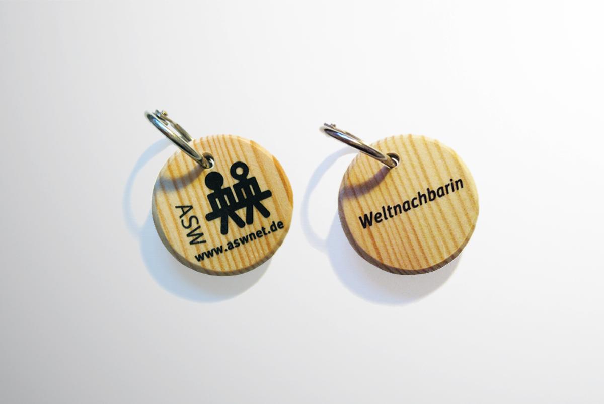 Weltnachbar – Schlüsselanhänger